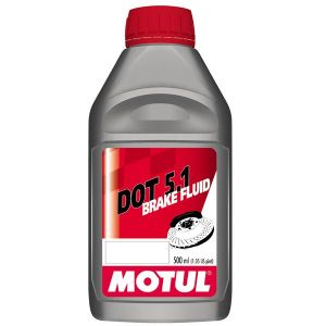 MOTUL High Performance DOT 5.1 Brake & Clutch Fluid: ABS Systems Recommended. 500ml.